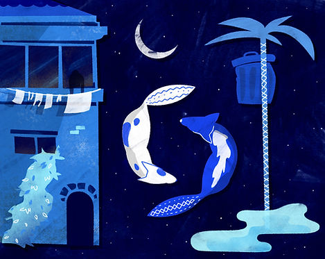 ilustrado Noche