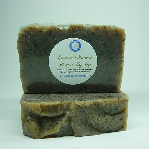 Gardener's Moroccan Rhassoul Clay Soap