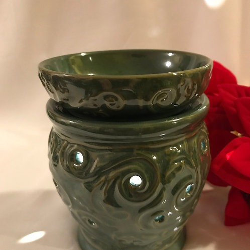 Ceramic Lighted 2 Tiered Candle Warmer