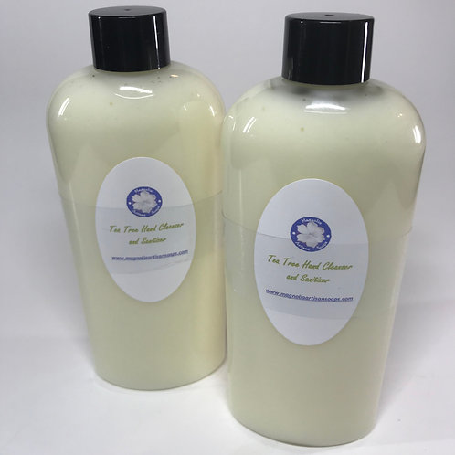 Tea Tree Hand Cleanser and Sanitizer