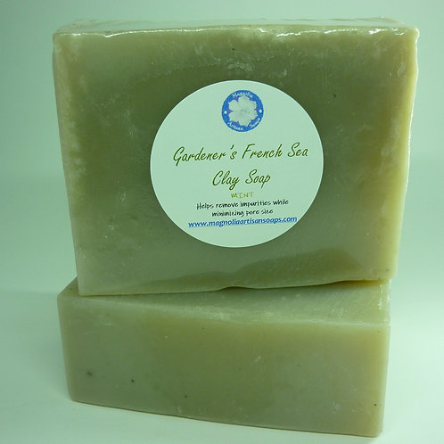 Gardener's French Sea Clay Soap