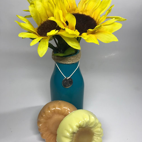 Sunflower Soap with Sunflower Decor