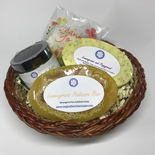 Lemongrass Skin Softening Kit