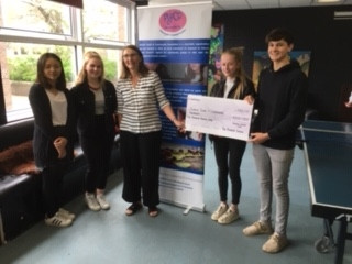 A big thank you to the sixth form at Purbeck School ...