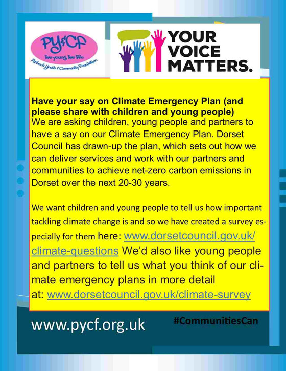 Climate Change - Your Voice Matters!