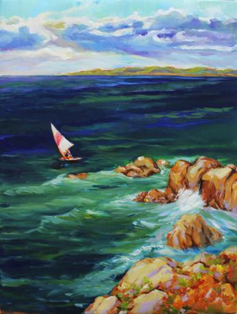 Set Sail in Blue Sea