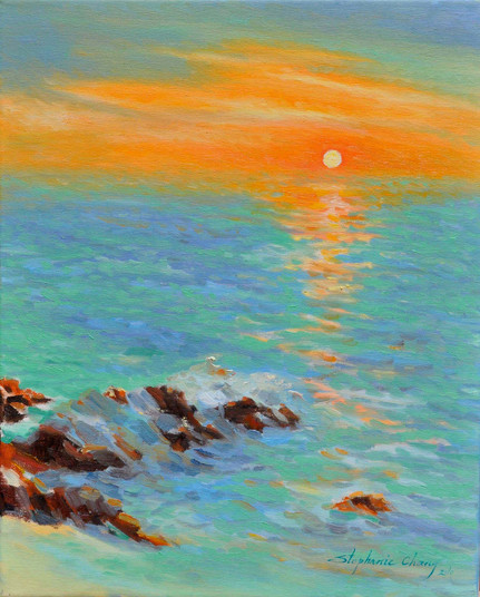 Sunrise in Carmel