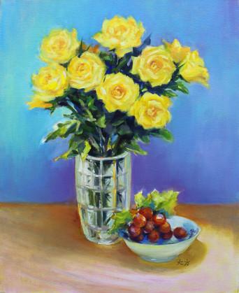 Roses from Filoli Garden