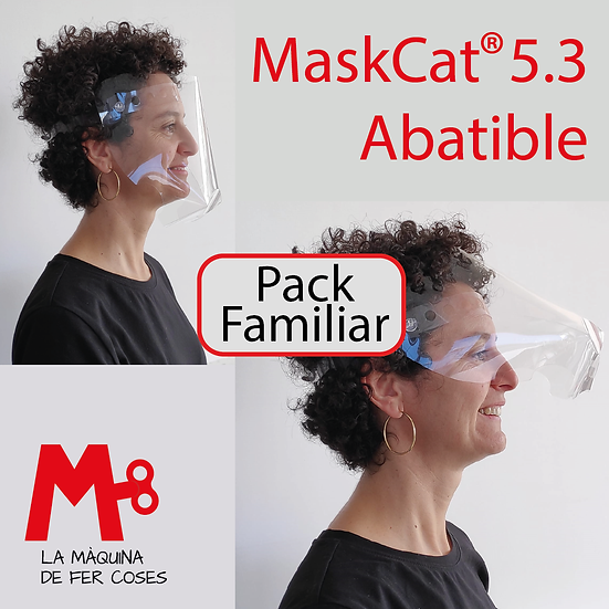 PACK FAMILIAR OFERTA · MasKCat® 5.3 ABATIBLE