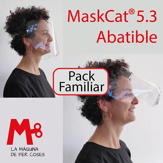 PACK FAMILIAR OFERTA · MasKCat® 5.3 ABATIBLE