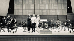 Dress rehearsal at Carnegie Hall