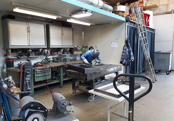 Metall Schweissarbeiten Ledergerber AG - diverse Rahmen