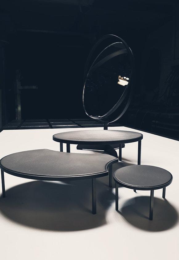 Dekoratio, Tischspiegel, exklusiv, Metallprodukte, Design Luzern
