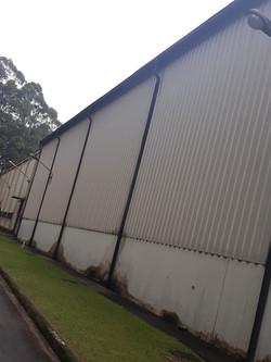 Calhas para barracões industriais