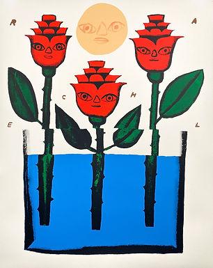 """Three Buds"" by Rachel Hayden"