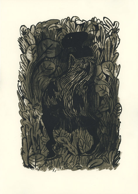 """""""Lady in the Leaves"""" by Lenworth Mcintosh"""