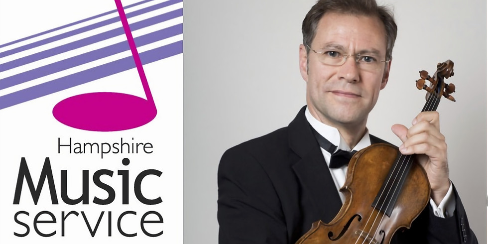 Violin masterclass with Pieter Schoeman, Leader of the London Philharmonic Orchestra.