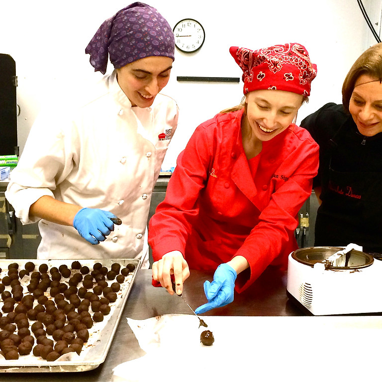 5-7PM Chocolate Truffle Making Class