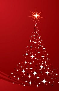 Christmas-Tree-Background-Red-Vector-Gra