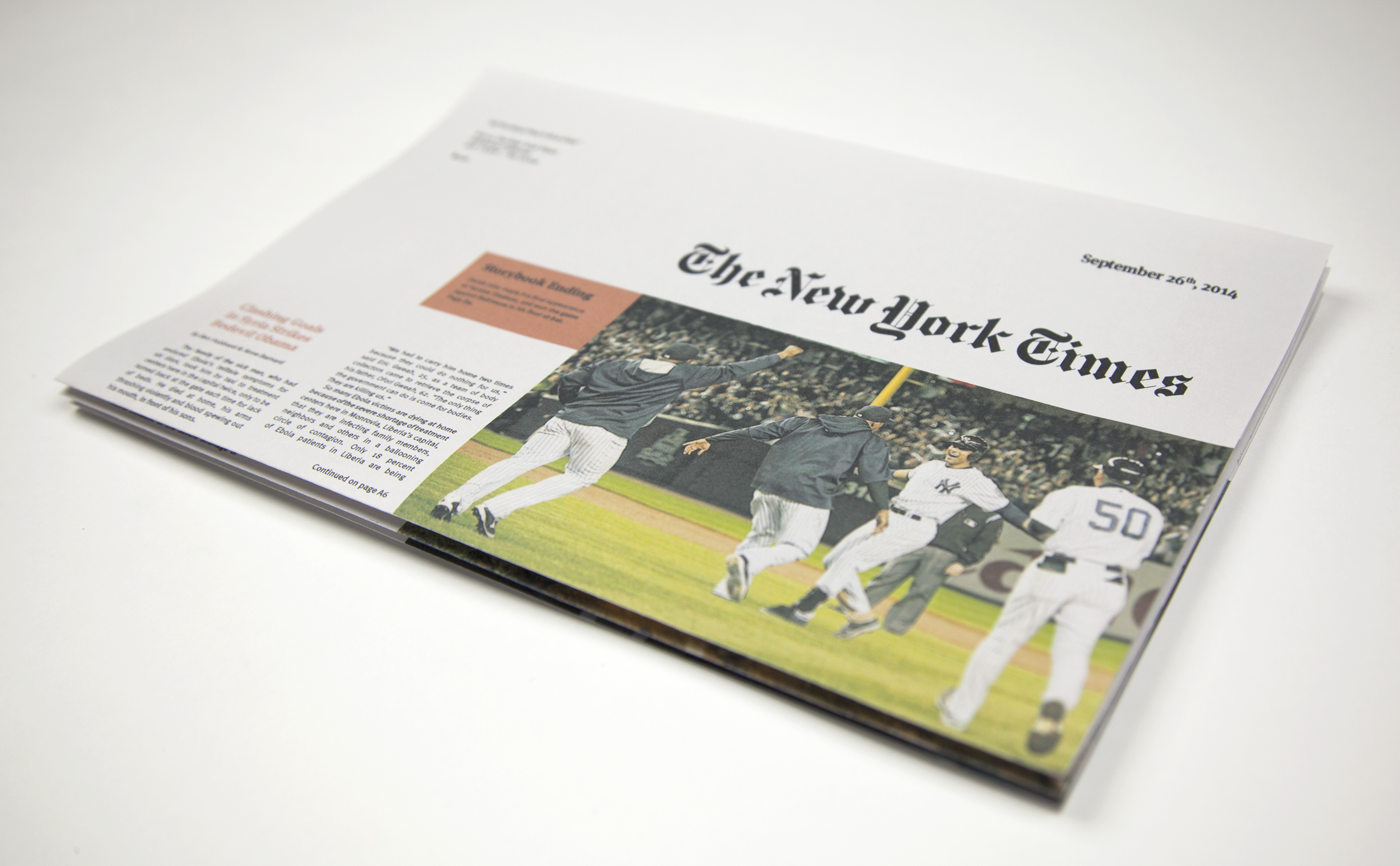 NEWSPAPER REDESIGN