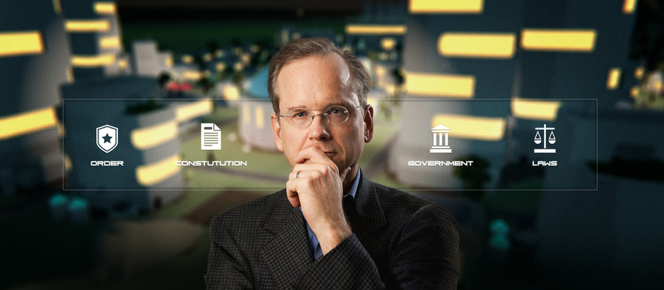 LAWRENCE LESSIG ON WHAT MMOS CAN TEACH US ABOUT REAL LIFE POLITICS