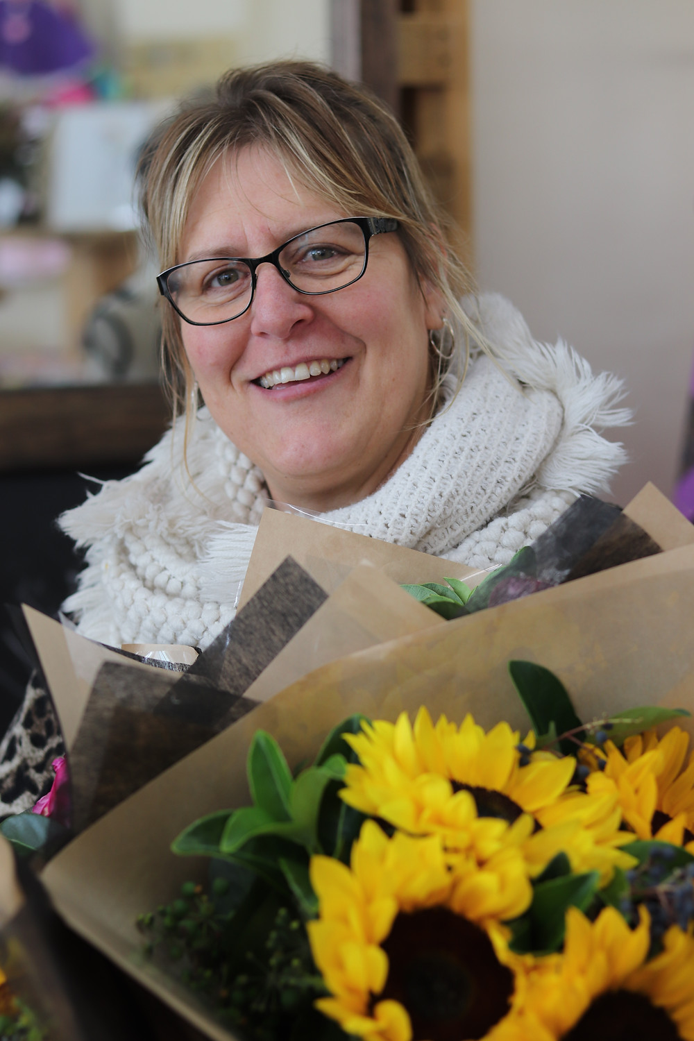 Jodi Phillips of Kilmore Florist