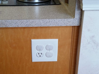 Senoia Electric, another electrical service performed in the kitchen of a home in Tyrone, GA.