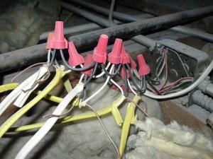 dangerous electrical taps