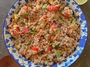Ensalada de trigo sarraceno