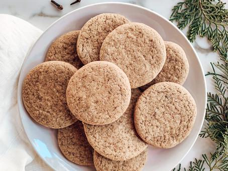 Galletitas navideñas veganas