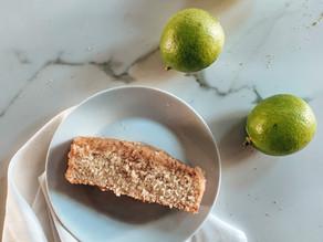 Torta vegana de limón sin gluten