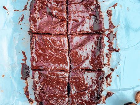 Brownies sin cocinar