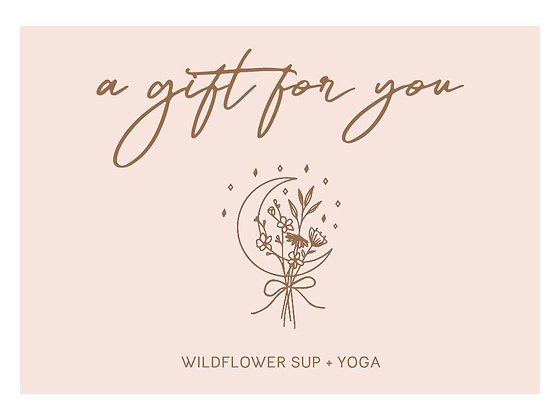 Wine + Yoga Gift Card