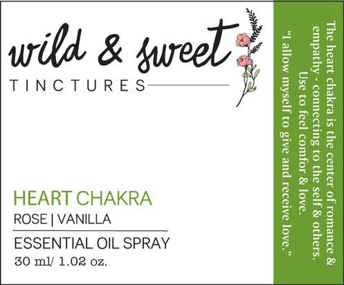 Heart Chakra | Essential Oil Tincture
