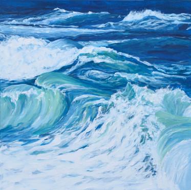 Storm Blown Sea