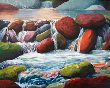 Pebble Cascade