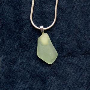 Green sea glass SG32
