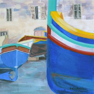 Maltese Boatyard