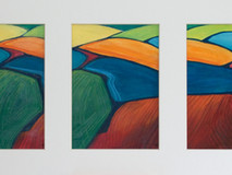 Bison Hil Triptych