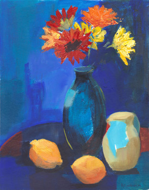 Gerberas and Lemons