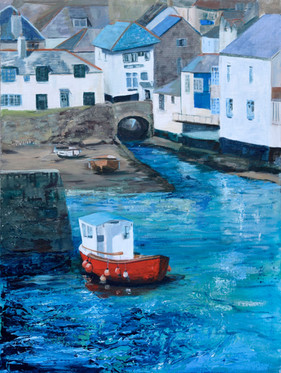 Lowering Tide, Polperro