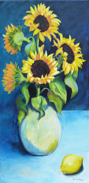 Sunflowers and Lemon