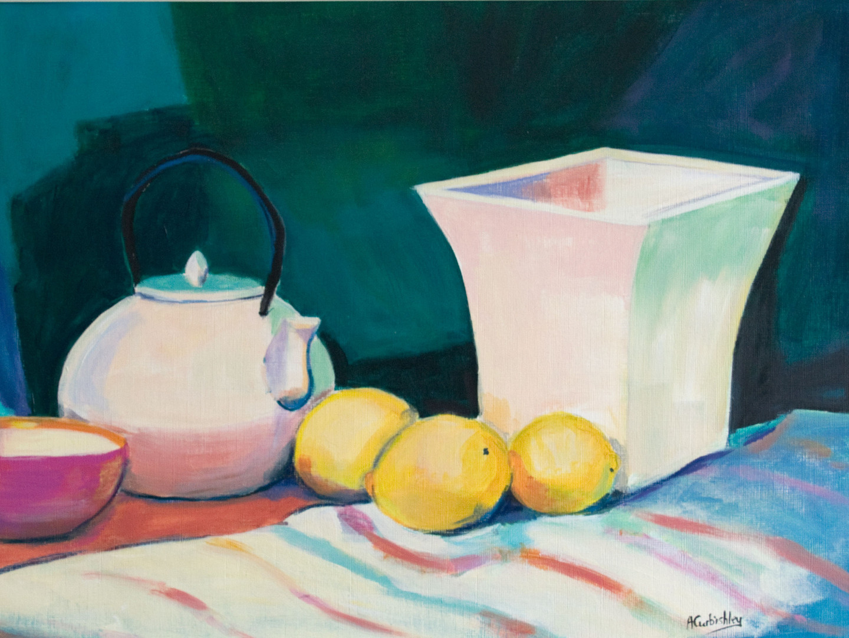 Teapot and Lemons