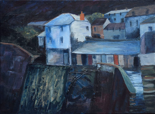 Port Isaac, Night