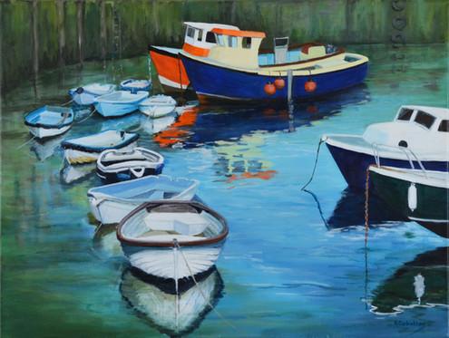 Mevagissey Boats II