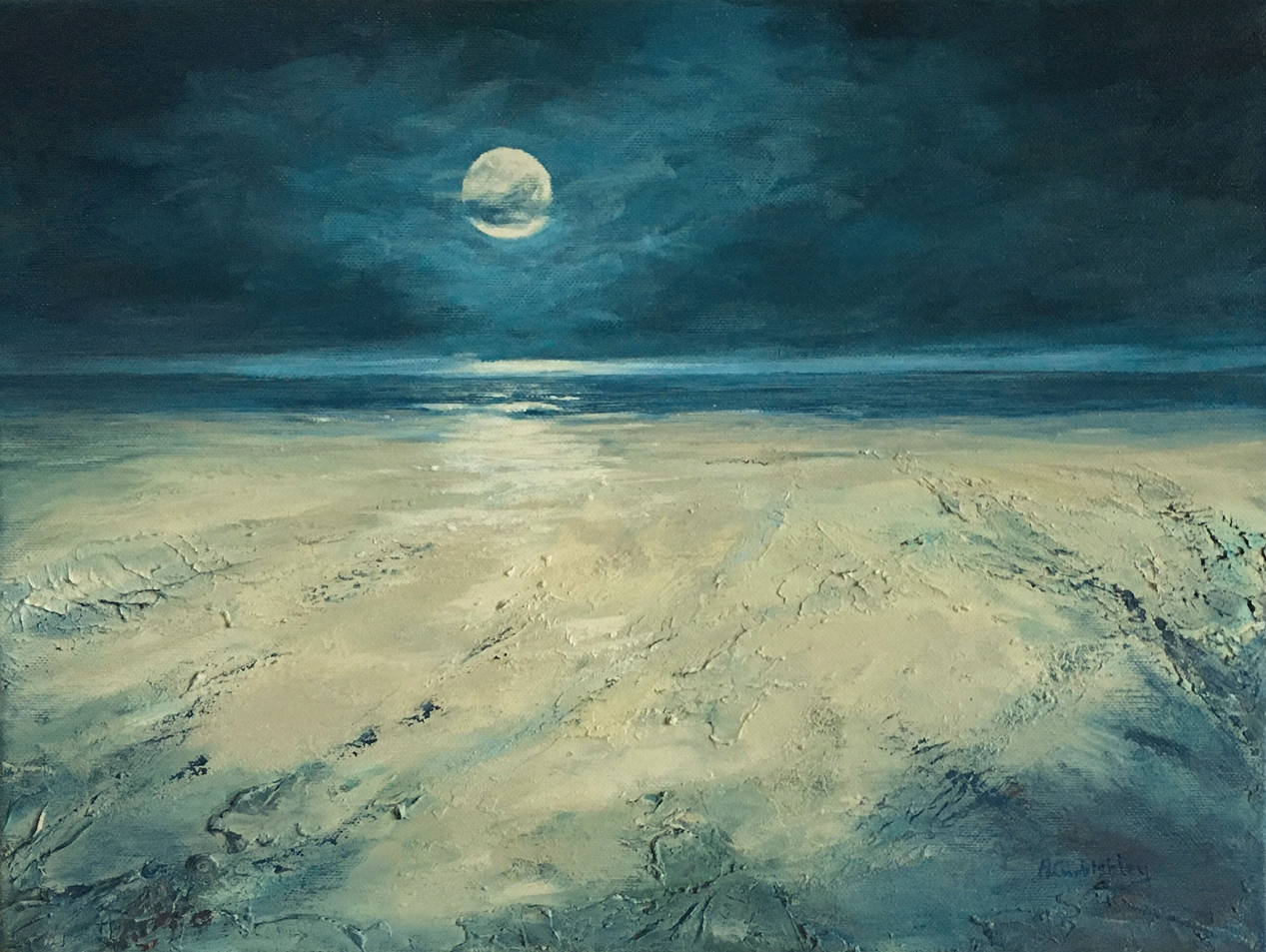 The Moon Doth Shine