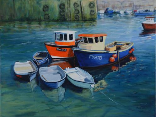 Mevagissey Boats III