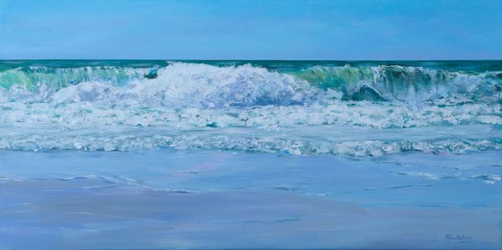 Gentle Light, Rough Sea