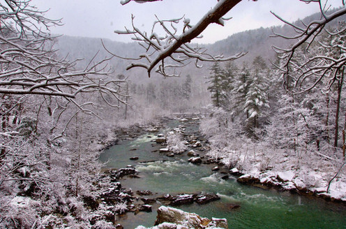 Goshen Pass, Virginia