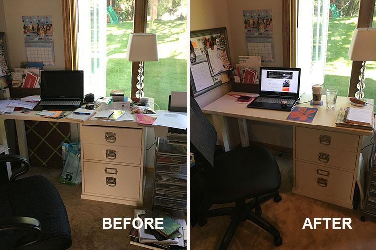Desk Areas